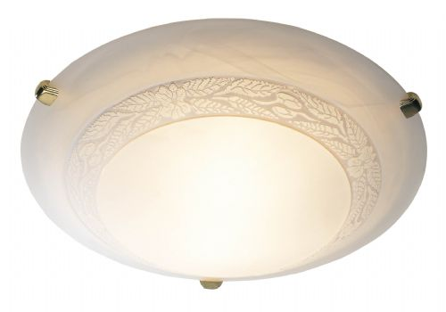 Damask Medium Flush Ceiling Light DAM502 (052353)